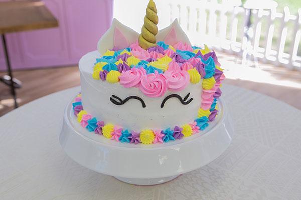 bolo de unicórnio simples
