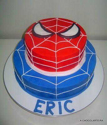 bolo do homem aranha infantil