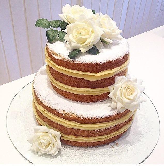 Bolo Bem-Casado naked cake