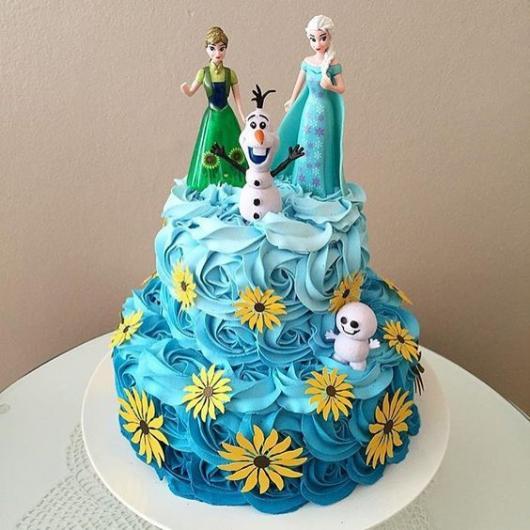 Bolo da Frozen 2 andares