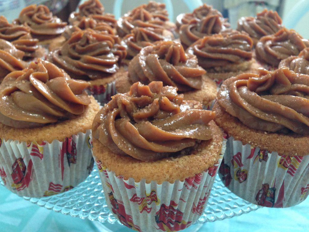Bolo de Churros cupcake de churros