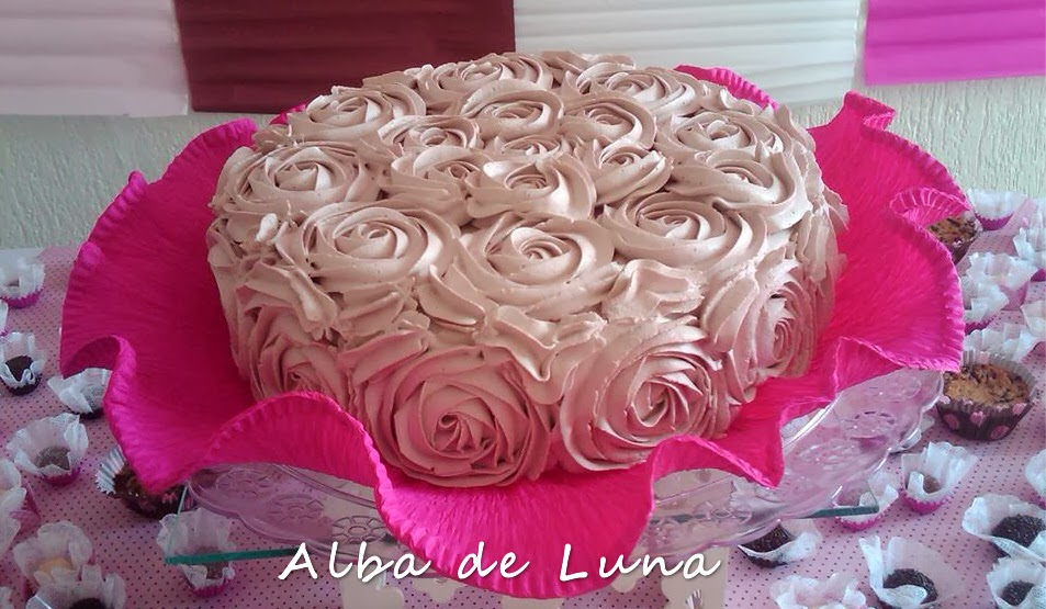 bolo da barbie de chantilly