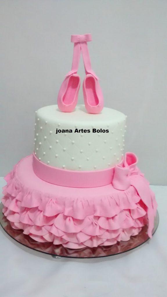 bolo de bailarina infantil