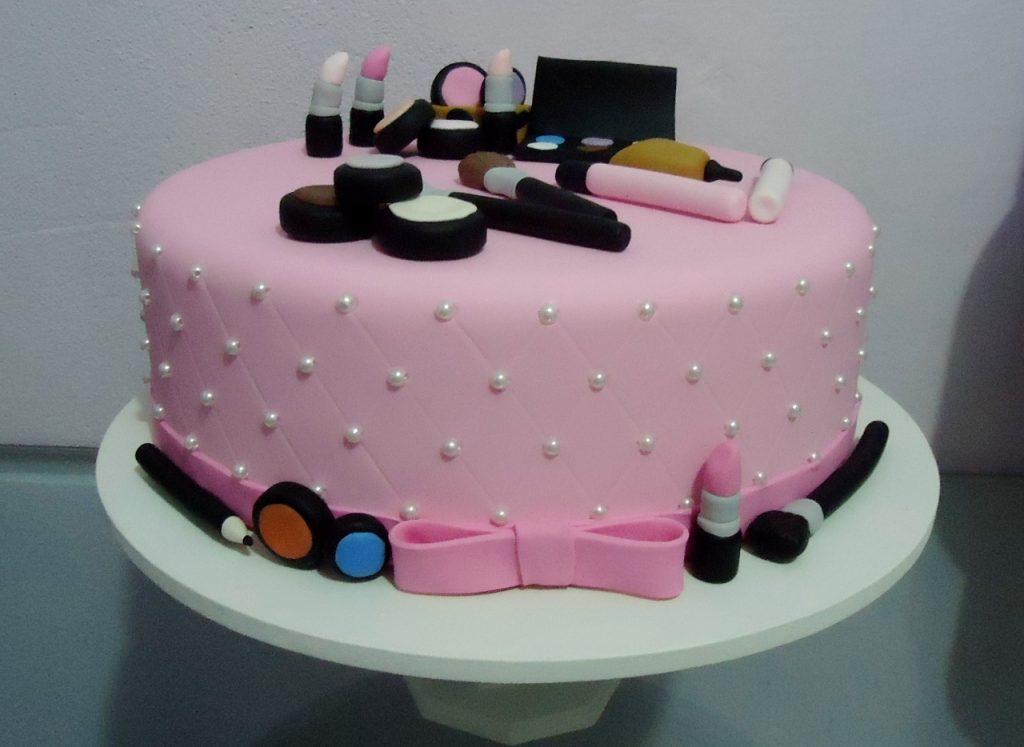 bolo de maquiagem 1 andar
