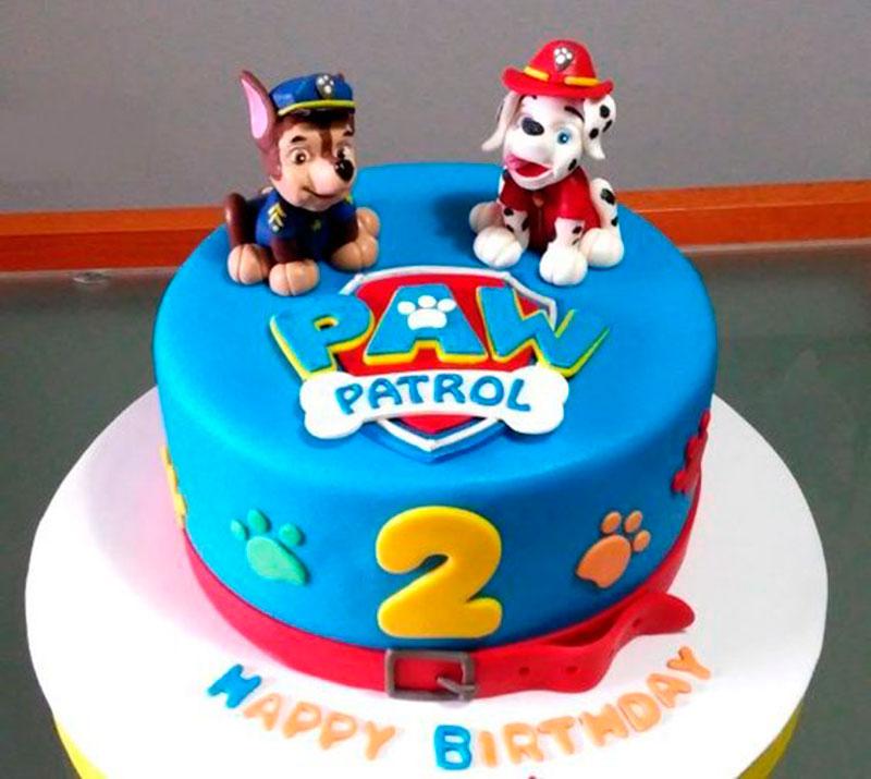 bolo patrulha canina simples