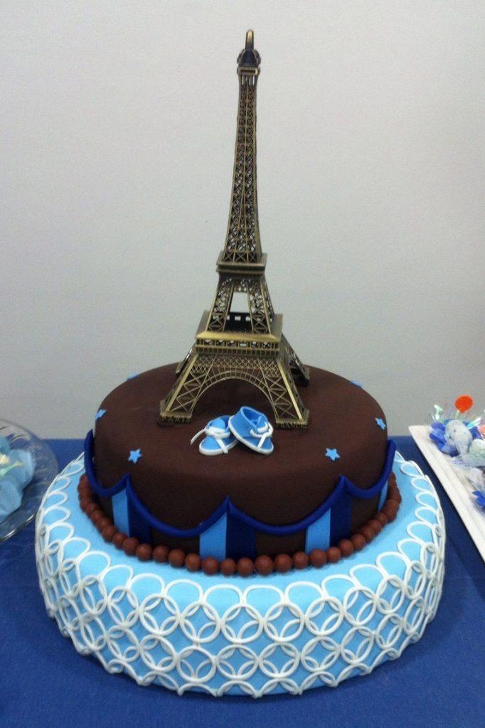 Bolo Paris Azul