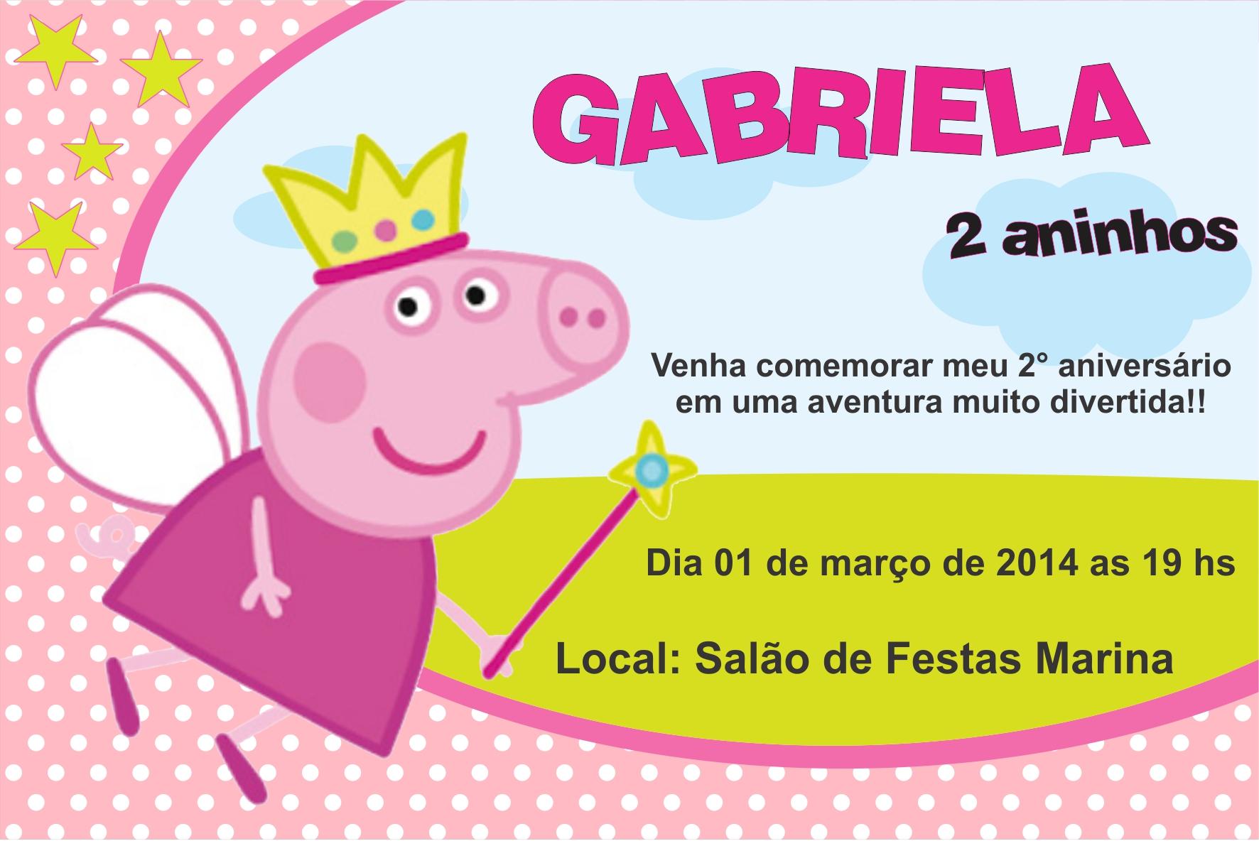 Convite Peppa Pig 30 Ideias Para Voce Se Inspirar