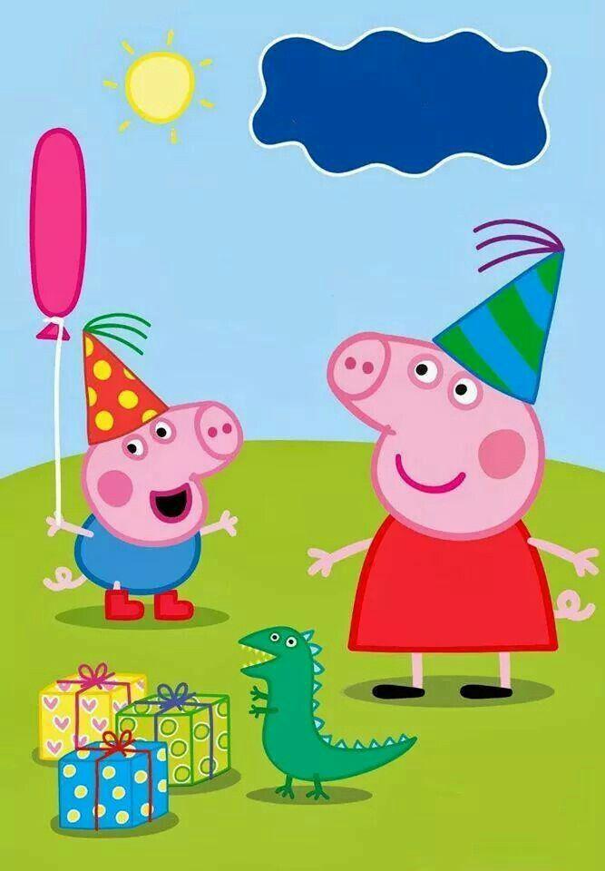 convite aniversario peppa pig
