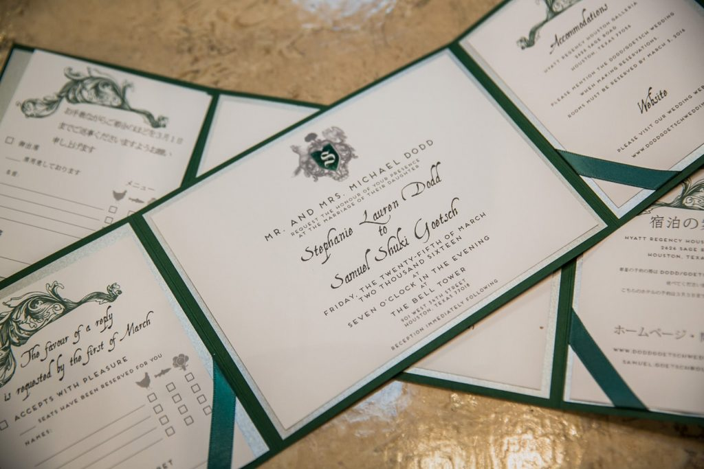 convite de casamento harry potter