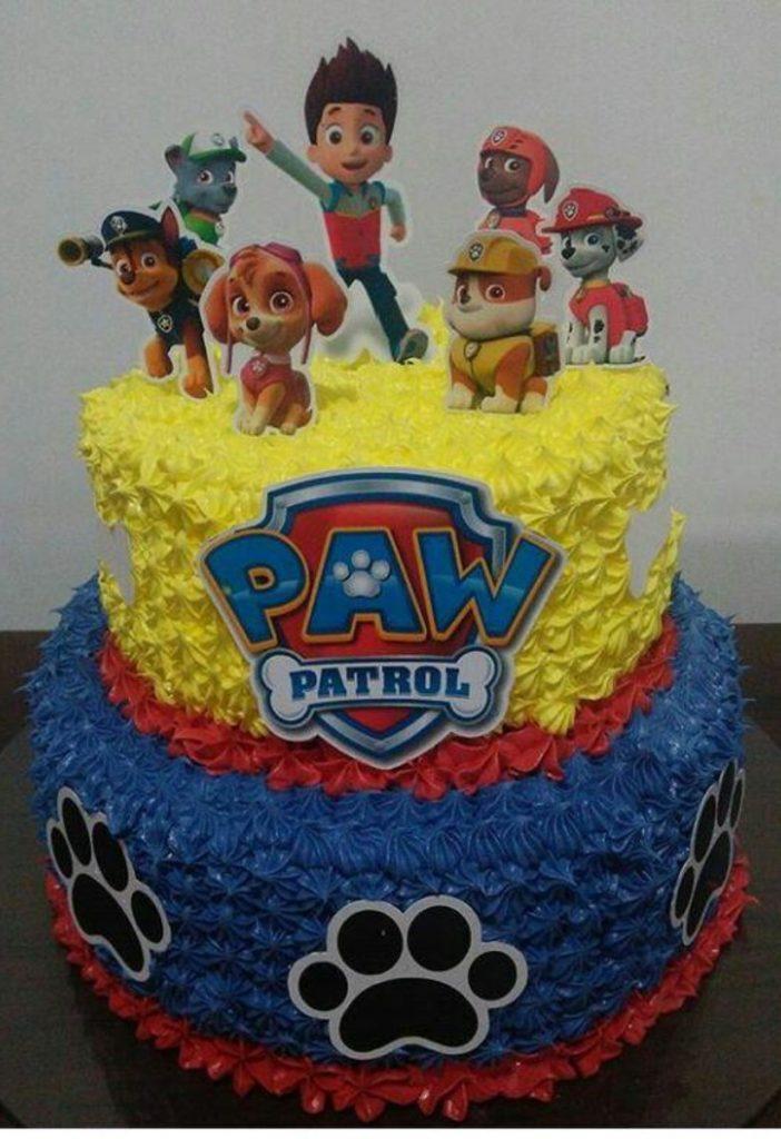 bolo patrulha canina glace