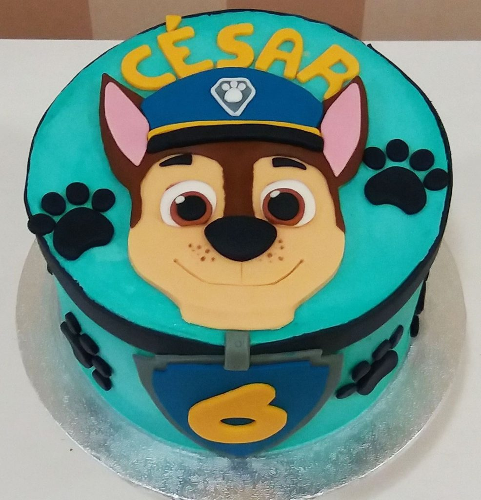 bolo patrulha canina pasta americana