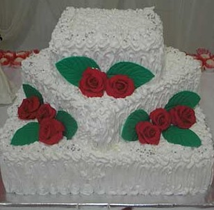 bolo de noivado de chantilly