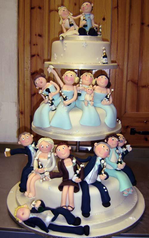 bolo de noivado engraçado