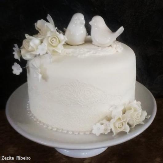 bolo de noivado pequeno
