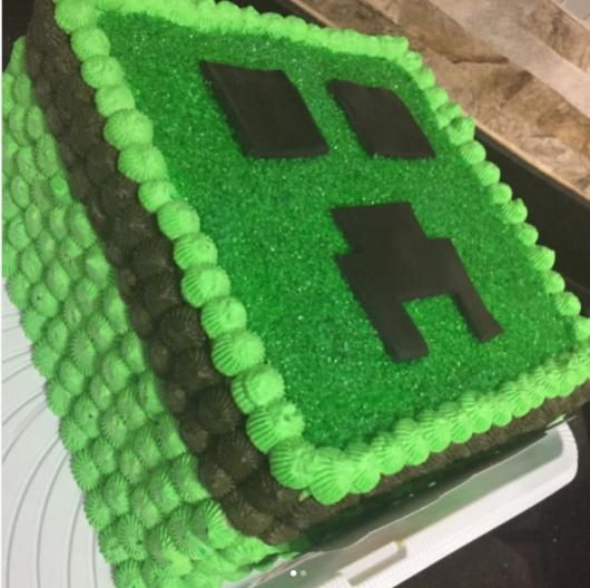 Bolo minecraft simples