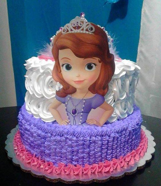bolo princesa sofia chantilly