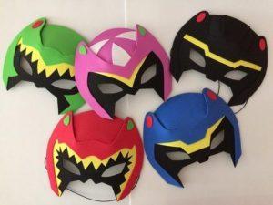 Fantasia Power Rangers Improvisada