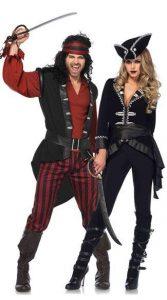Fantasia de casal pirata
