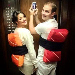 Fantasia de casal engraçadas