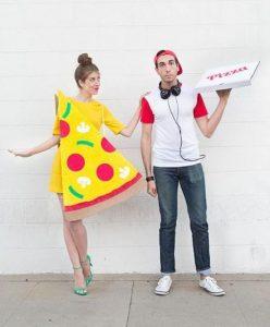 Fantasia de casal criativa