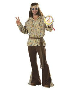 Fantasia hippie masculina
