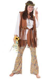Fantasia hippie feminina