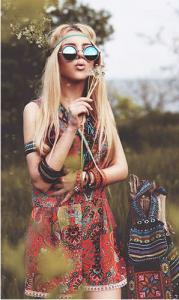Fantasia hippie moderna
