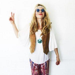 Fantasia hippie anos 70