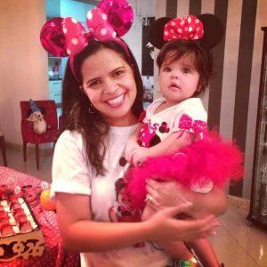 Fantasias da Minnie mãe e filha