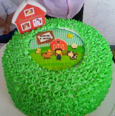 bolo fazendinha simples