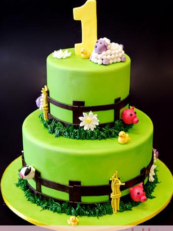 bolo fazendinha fake