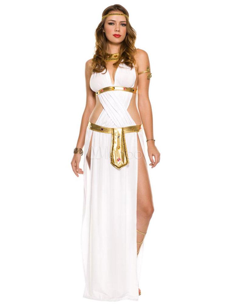 fantasia deusa grega luxo