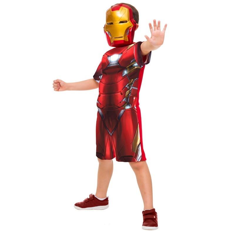 fantasia homem de ferro infantil
