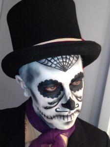 Fantasia de Caveira Mexicana masculina