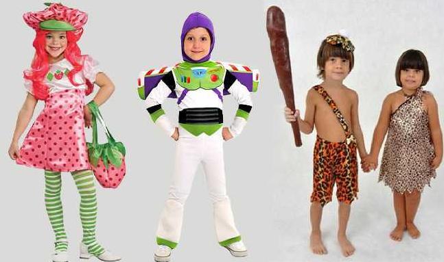 Fantasias criativas para crianças