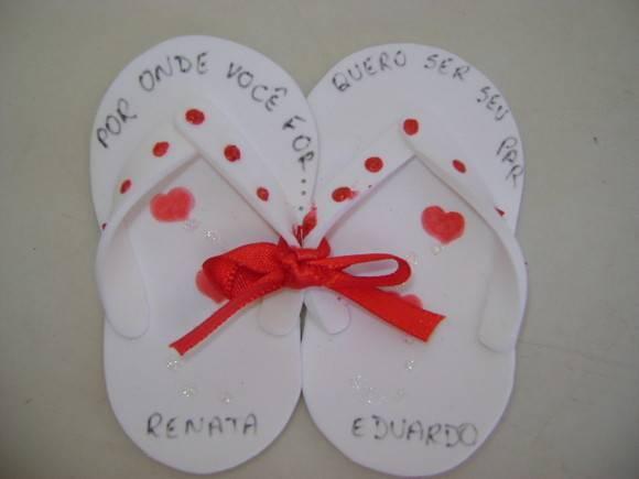 lembrancinhas de casamento em EVA