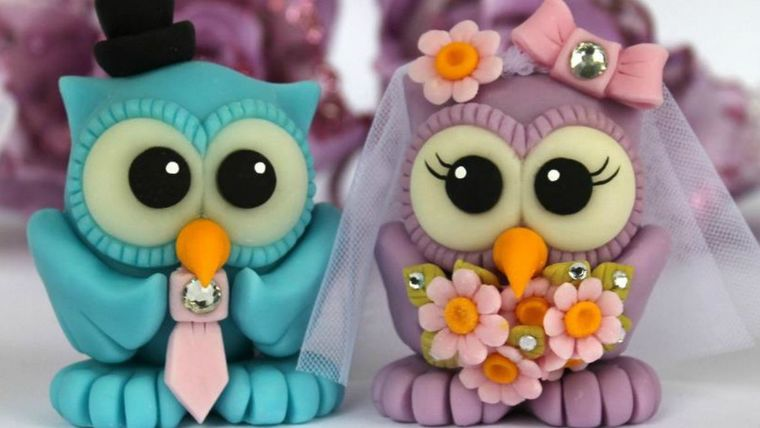 lembrancinhas de casamento de biscuit