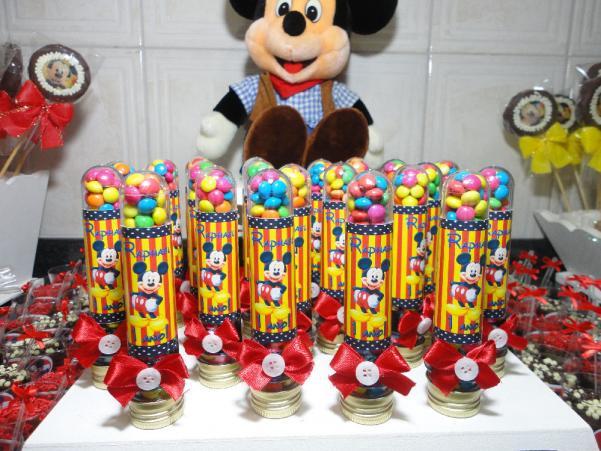 Lembrancinhas do mickey para aniversario