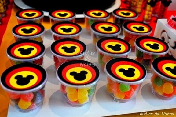 Lembrancinhas do mickey aniversario infantil