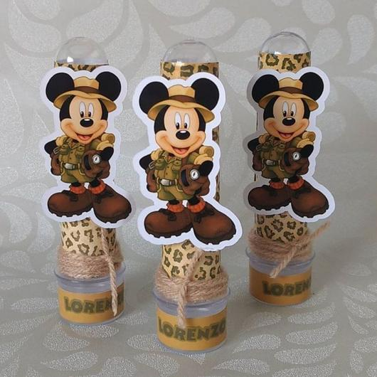 Lembrancinhas do mickey safari