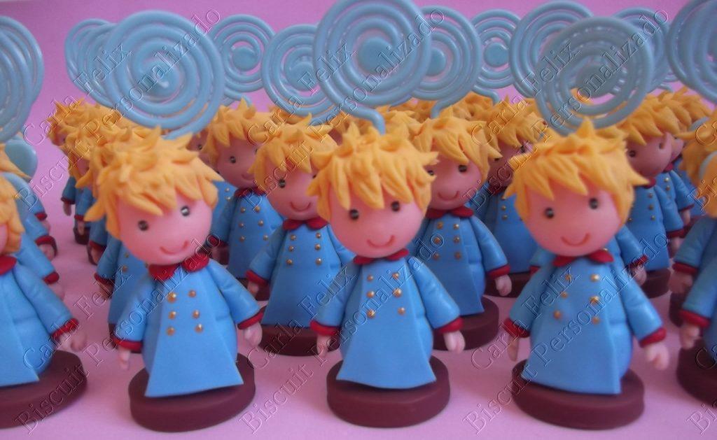 Lembrancinhas pequeno principe de biscuit