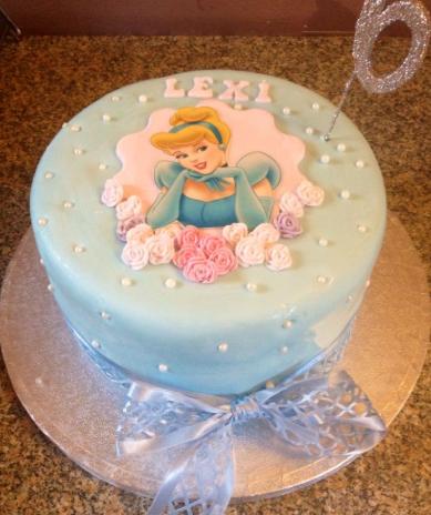 bolo de aniversário da cinderela