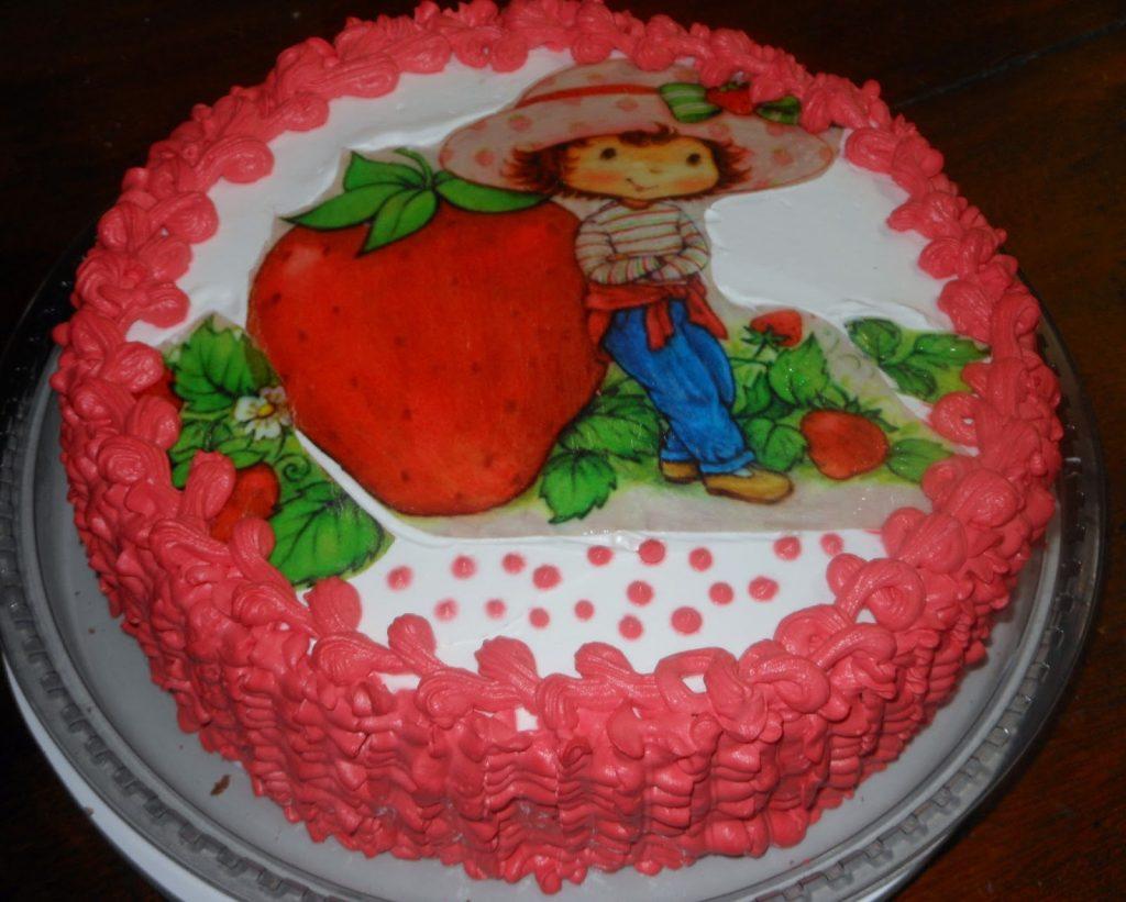 bolo da moranguinho simples