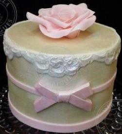 Mini bolo de 15 anos