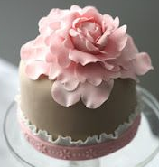 mini cake for 15 years