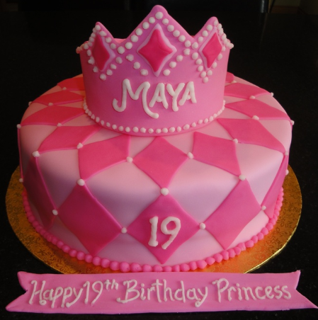 bolo princesa rosa
