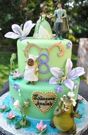 bolo da princesa e o sapo