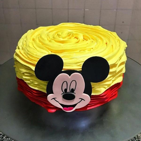 Bolo Do Mickey 120 Modelos Incriveis Para A Sua Festa
