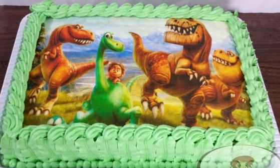 Bolo o bom dinossauro