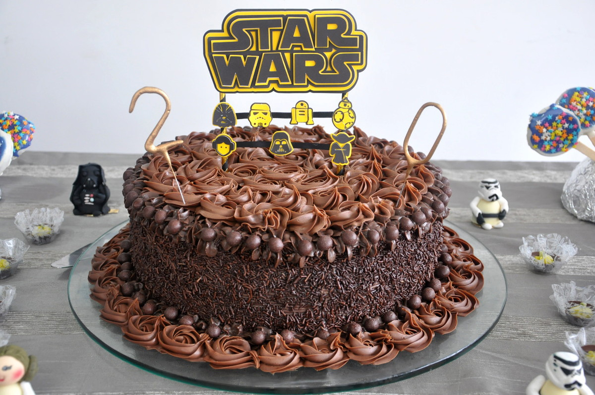 bolo star wars simples